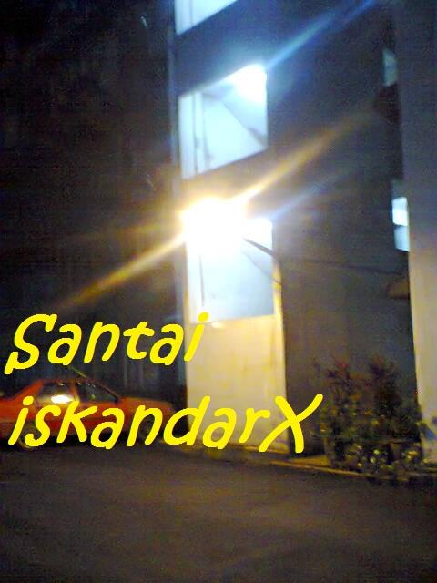 iskandarx.blogspot.com,santai,simpang empat,Simpang 4,Flat ijau,balik pulau,Suasana pagi di Flat ijau bersama Mat Arip