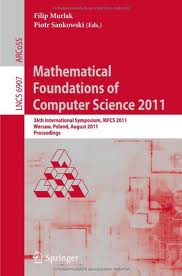 Mathematical Foundations of Computer Science 2011  Download Ebook  PDF Free