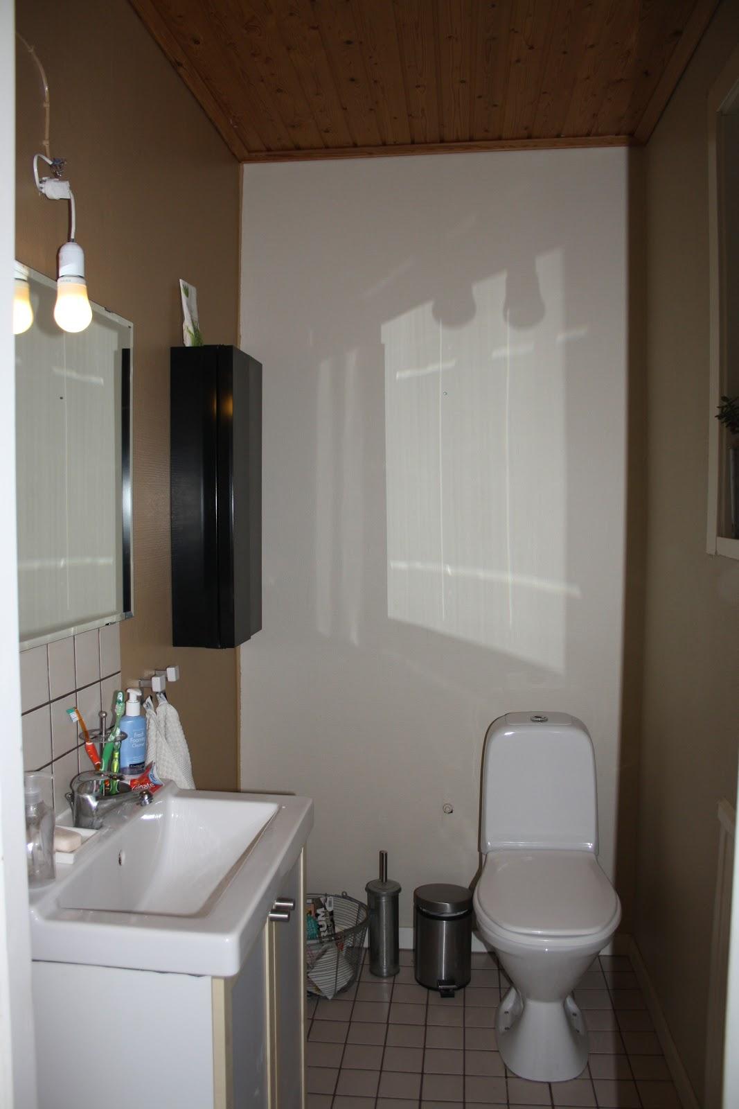 Dagdrömmar & verklighet: budgetrenovering av toalett