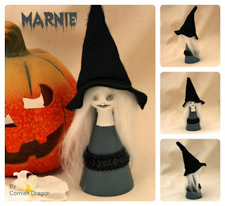 Marnie The Witch Art doll