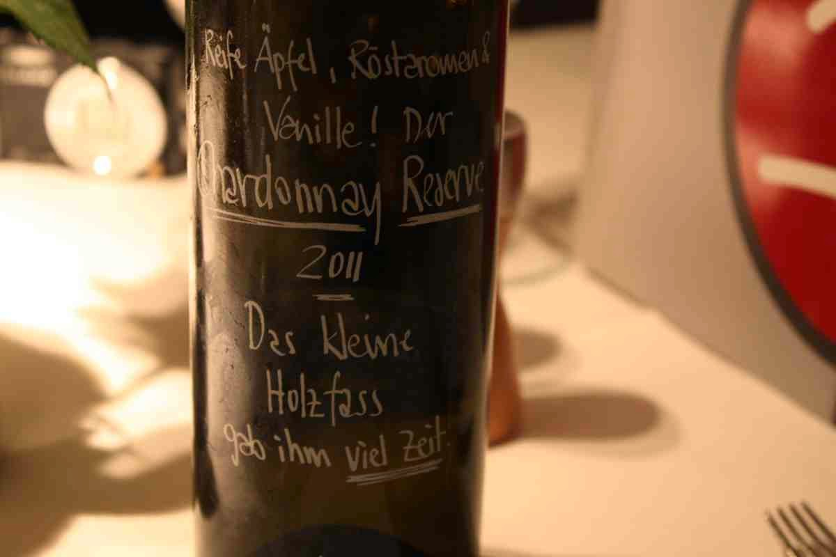 Und dazu gibt's den passenden Wein aus dem Kamptal
