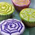 Halloween Webs Cupcakes