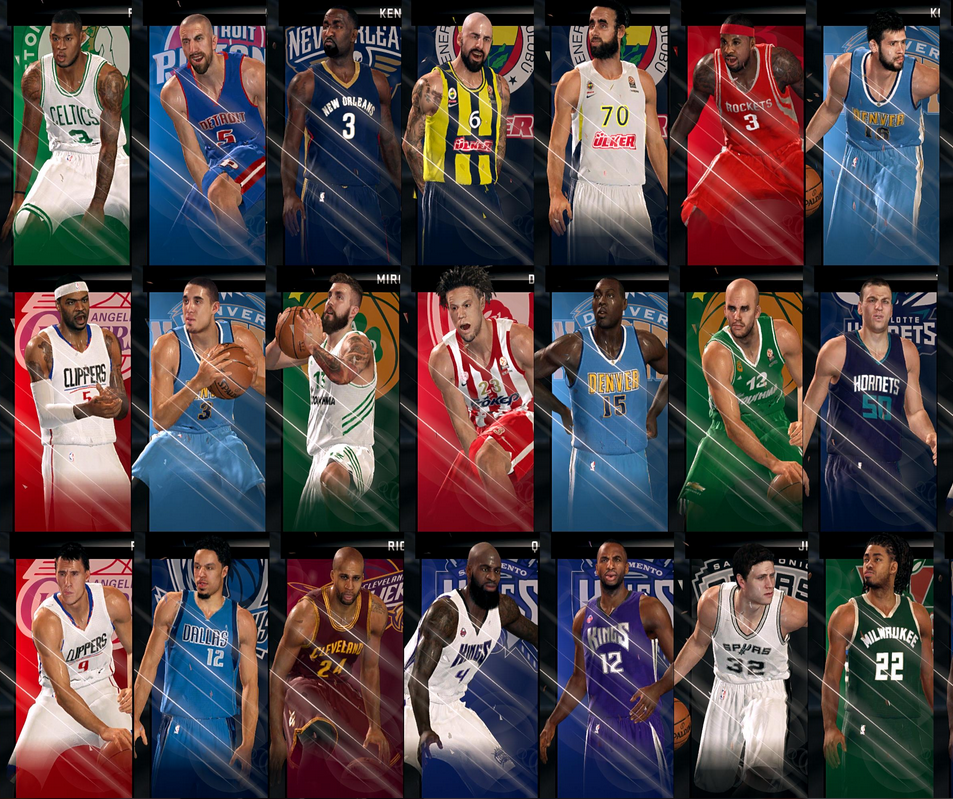 NBA 2K15 Roster 2015–16 Season V5
