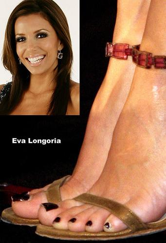 eva longoria feet