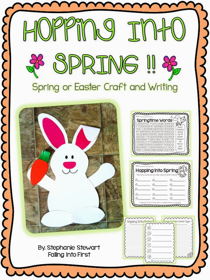 http://www.teacherspayteachers.com/Product/Spring-Bunny-Craftivity-and-Writing-Hopping-Into-Spring-626338