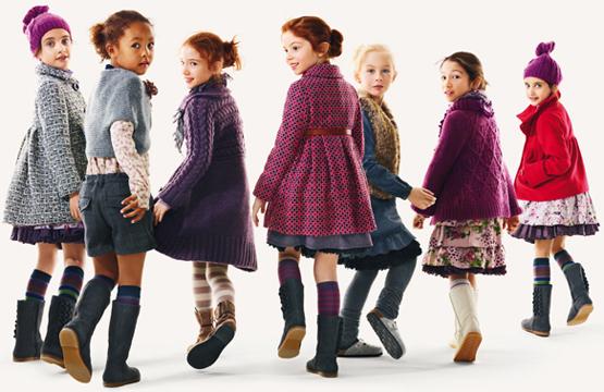 abrigos niña 2011 2012