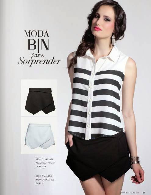 short y blusa modelag PV 2015