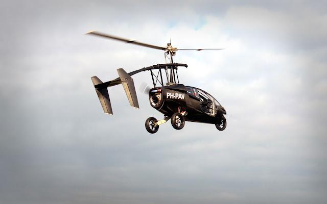 PAL-V, Auto volador del futuro de fabricación Holandesa