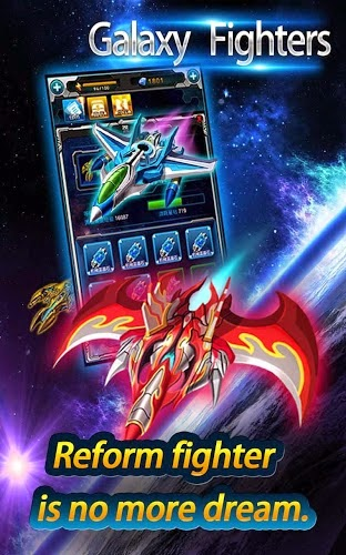 Galaxy Fighters:Fighters War Gameplay Android