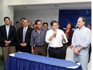 se une partido Nacional de Honduras
