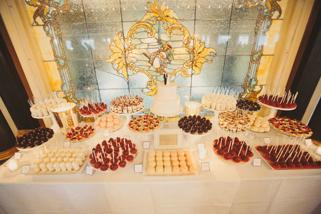 Minneapolis Wedding Cake and Mini Dessert Table
