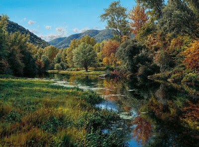 Pintura Oleo Maravillas Naturaleza Hiperrealismo