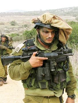 SOLDADO DEL EJÉRCITO MODERNO DEL ESTADO DE ISRAEL
