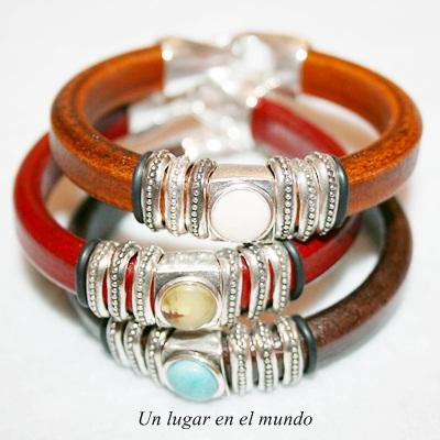 Brazaletes y pulseras de cuero Andre Valenza Facebook - imagenes pulseras de cuero