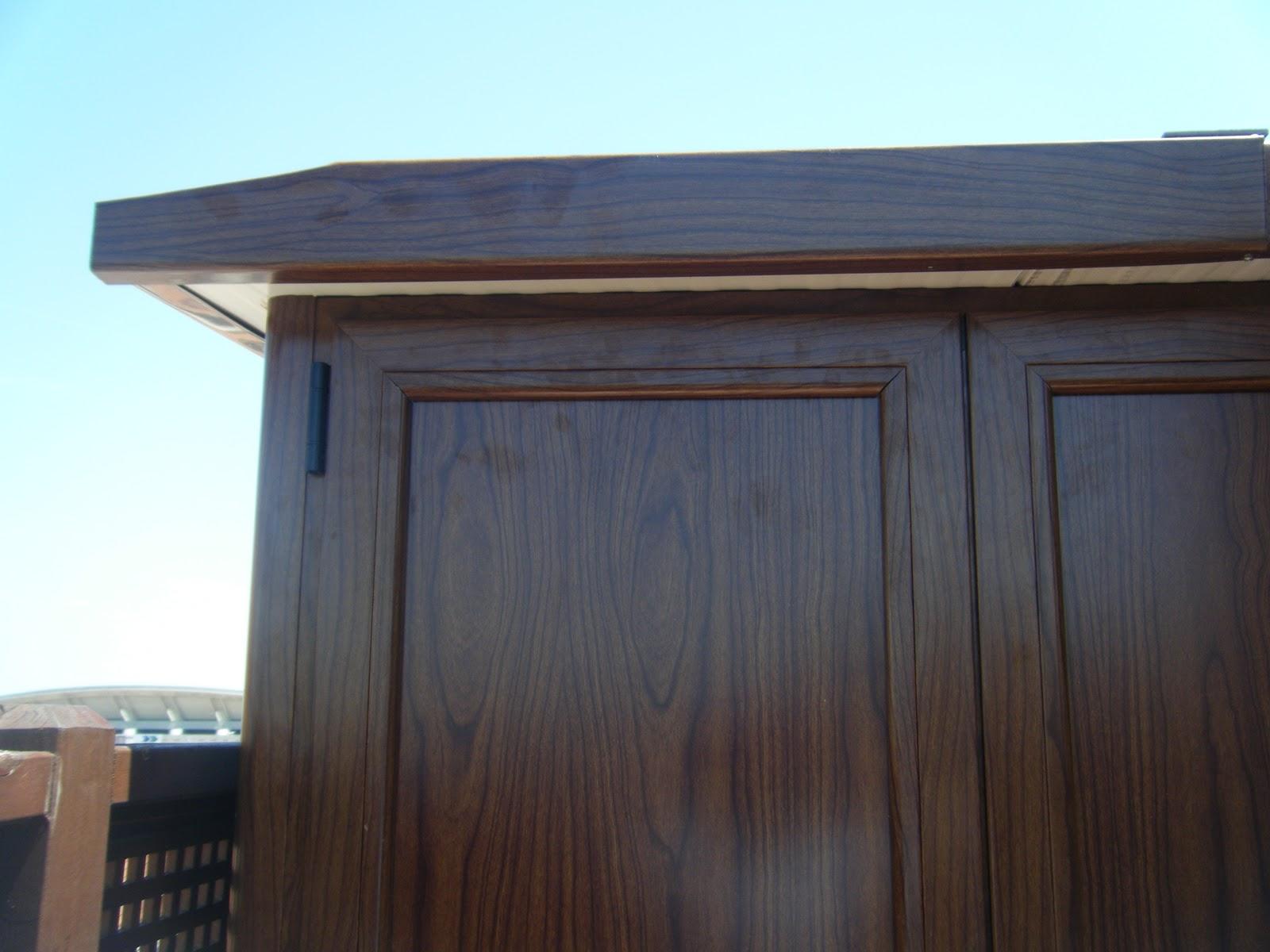 Armarios De Aluminio Para Terraza Amazing Vista Lateral Del  ~ Precio Armario Aluminio Terraza