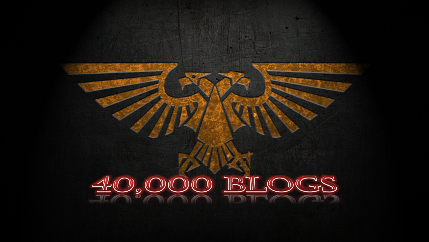 Warhammer 40k blogging group