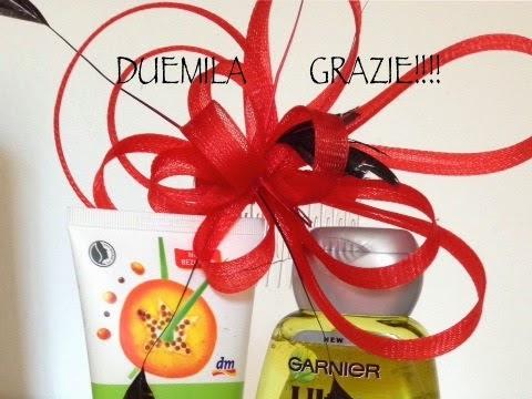 Giveaway & Tanti GRAZIE!