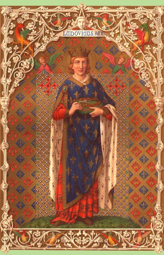 Saint-Louis France  city pictures gallery : ... Diocèse d'Evreux: Saint Louis, roi de France, priez pour la France