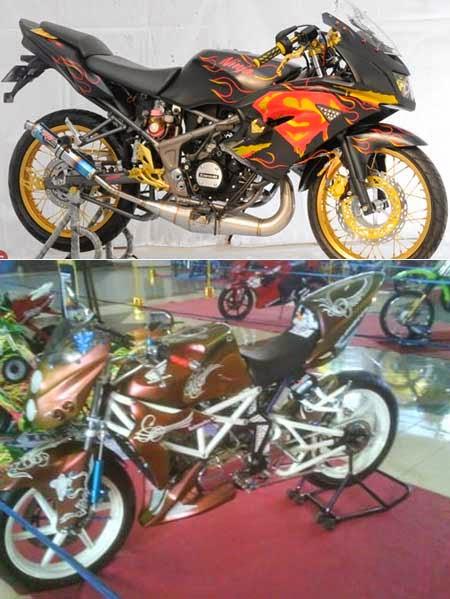 Kawasaki Ninja 150R Modifikasi