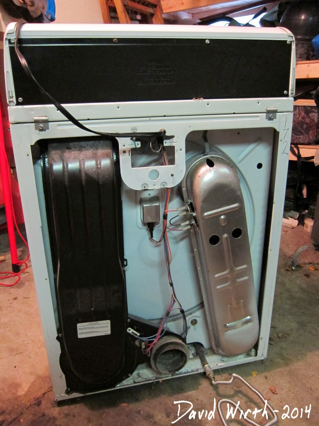 Gas Dryer new: Gas Dryer No Flame
