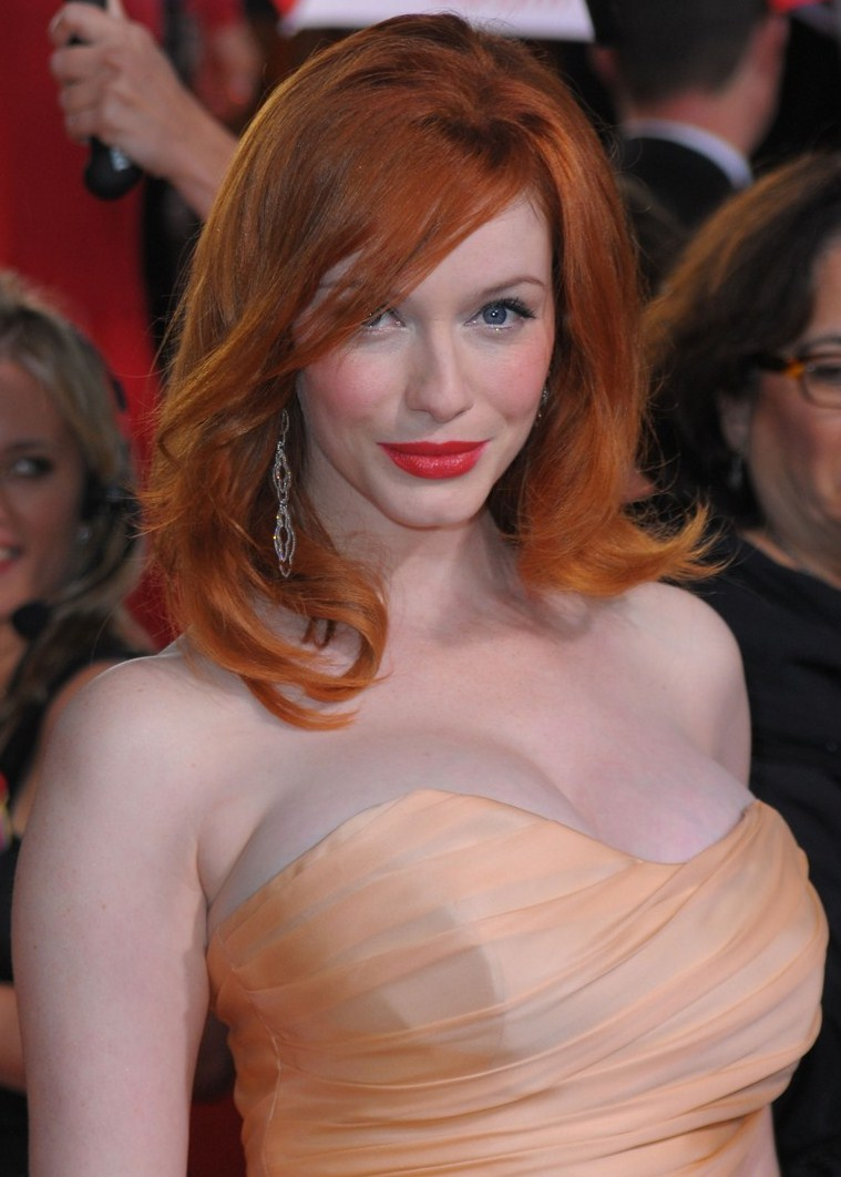 Christina Hendricks As Wonder Woman?