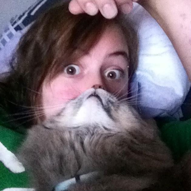 Photos with Cat Beards