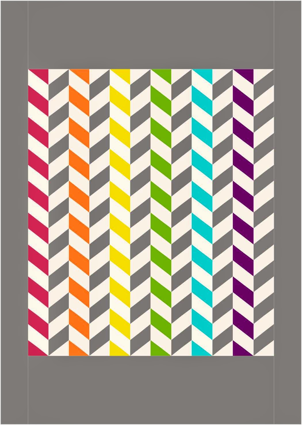 rainbow chevron patterns the image kid has it. Black Bedroom Furniture Sets. Home Design Ideas