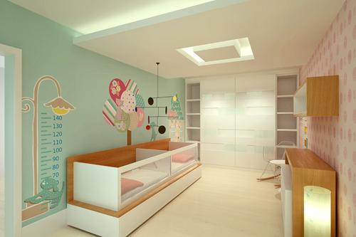 Mamypops: habitación de bebés mellizos niño y niña / quarto de ...