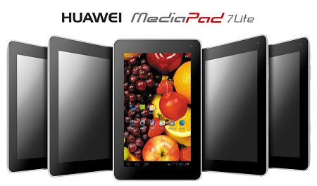Huawei MediaPad 7 Lite 3G: Price, Specs and Review in India