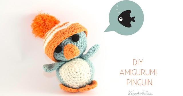 DIY: Amigurumi Pinguin mit XXL-M?tzchen - DIY Blog von ...