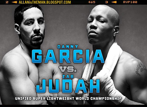 Danny Garcia vs Zab Judah Boxing Replay