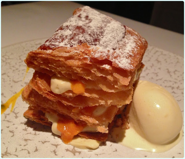The Ledbury, London - Mille Feuille