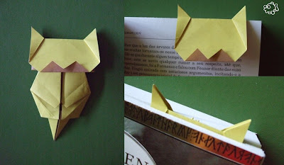 Origami Neko Bookmark by Jo Nakashima