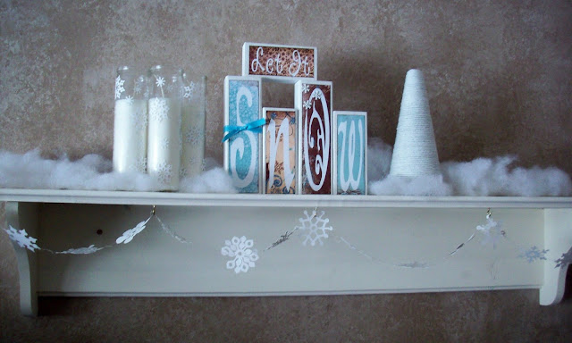 Winter shelf mantle