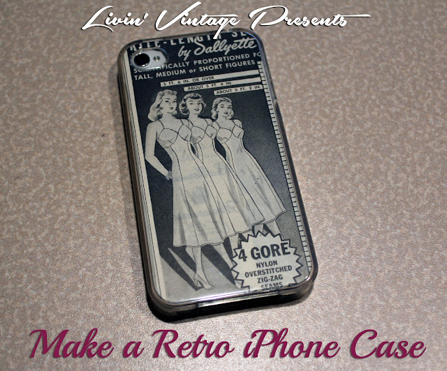vintage how to make an iphone case vintage phone case