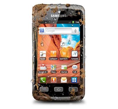 Samsung Galaxy Xcover, yang merupakan smartphone Android yang sangat