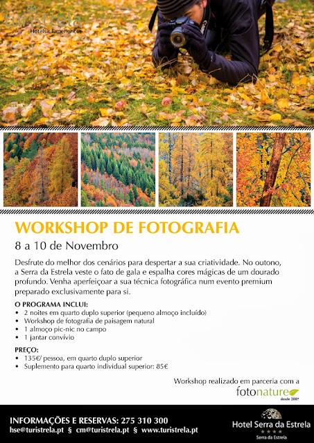 Workshop de Fotografia na Serra da Estrela