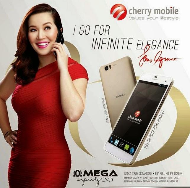 Cherry Mobile Omega Infinity, Cherry Mobile Kris Aquino, Kris Aquino