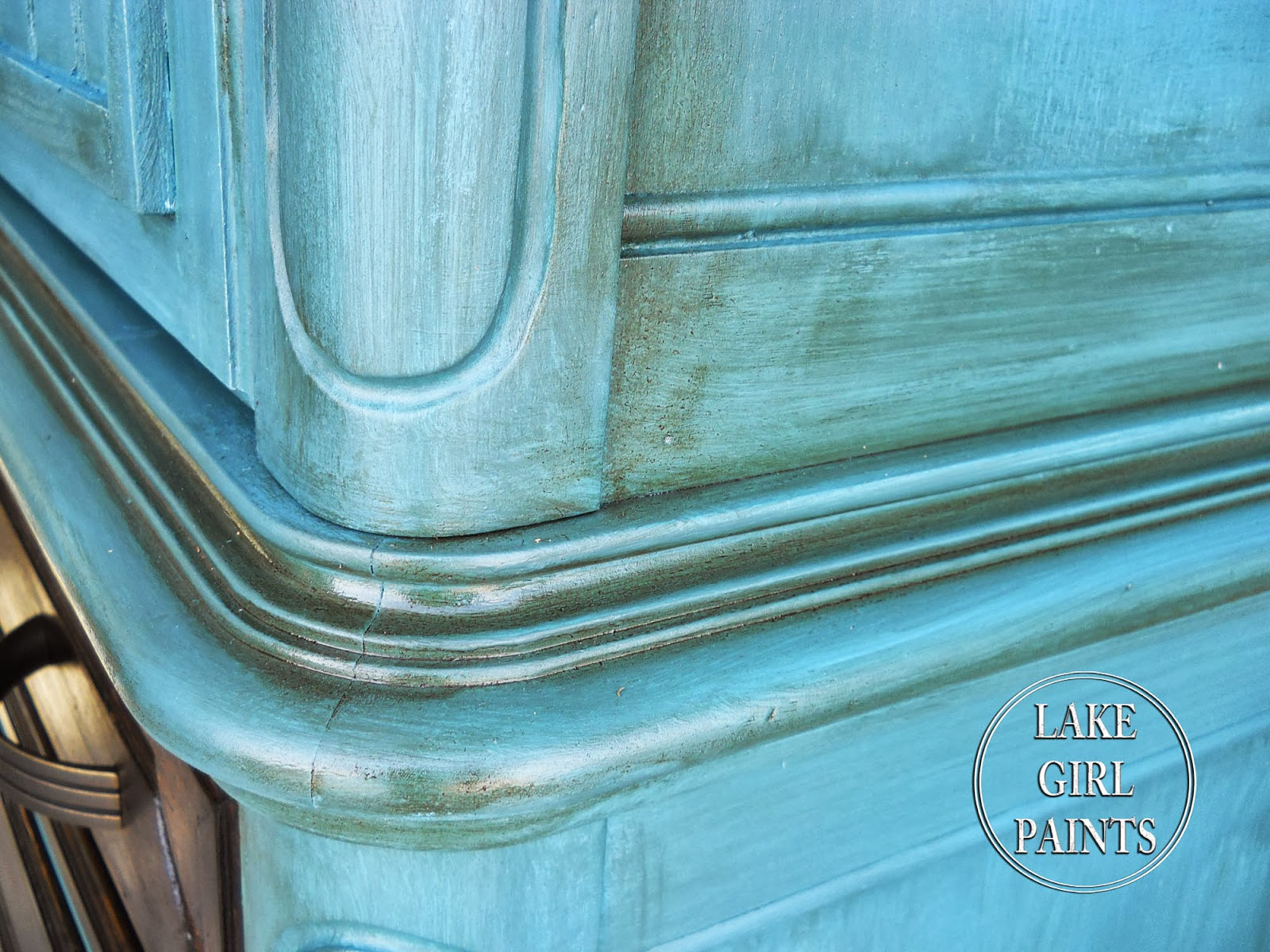 ... Girl Paints: Old Entertainment Center gets Beadboard Trendy Makeover