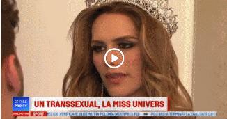 Spania e decisă să arate lumii întregi că susține sodomia: Un transgender la Miss Univers