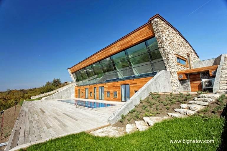 Residencia contemporánea casa pasiva en Bulgaria