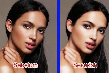Memutihkan kulit Dengan Photoshop