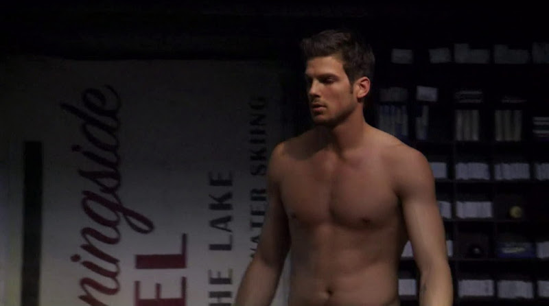 Rick Malambri Shirtless in Step Up 3D