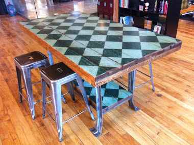 #3-21 Specialty Table - Industrial Table
