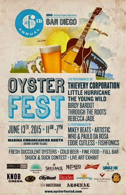 Win Backstage Passes To San Diego Oysterfest
