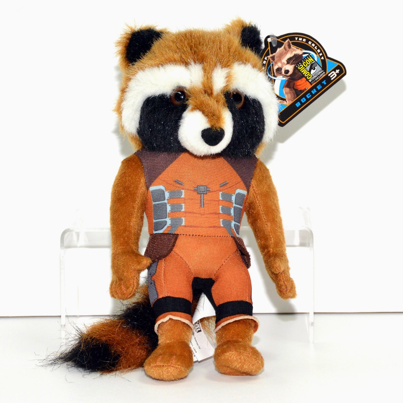 "San Diego Comic-Con 2014 Exclusive Marvel's Guardians of the Galaxy Rocket Raccoon 10"" Plush"