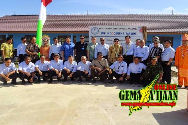 Indocement Bangun Gedung SMP Yasment