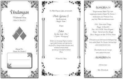 Undangan Pernikahan Islami MS Word2