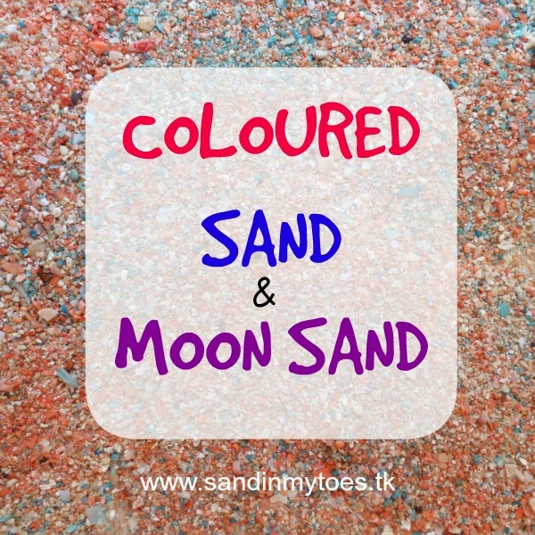 Coloured Sand and Moon Sand