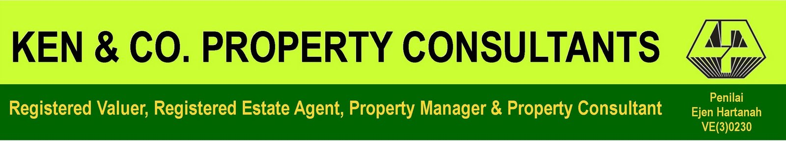 REAL ESTATE AGENT AND VALUATION CONSULTANT FOR SARAWAK KEN & CO PROPERTY CONSULTANTS